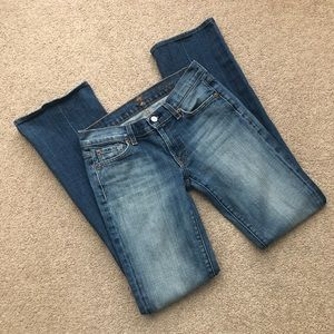 7 For All Mankind Bootcut Jeans - Long Length